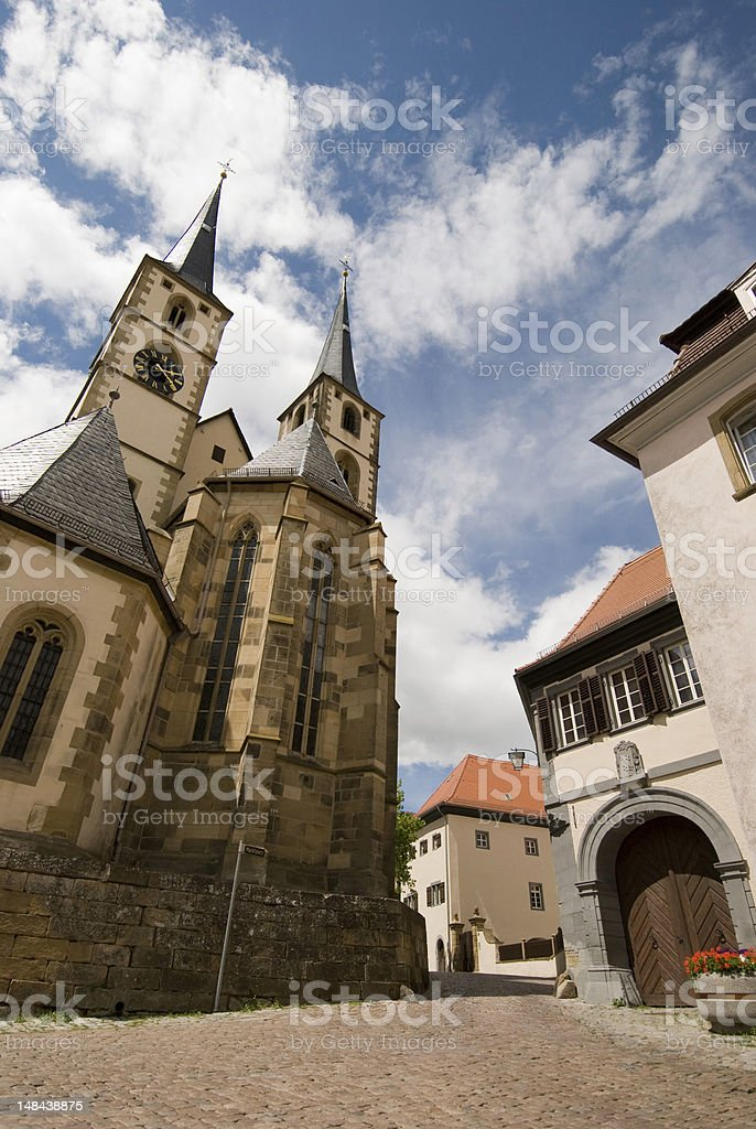 Bad Wimpfen, Germany. royalty-free stock photo