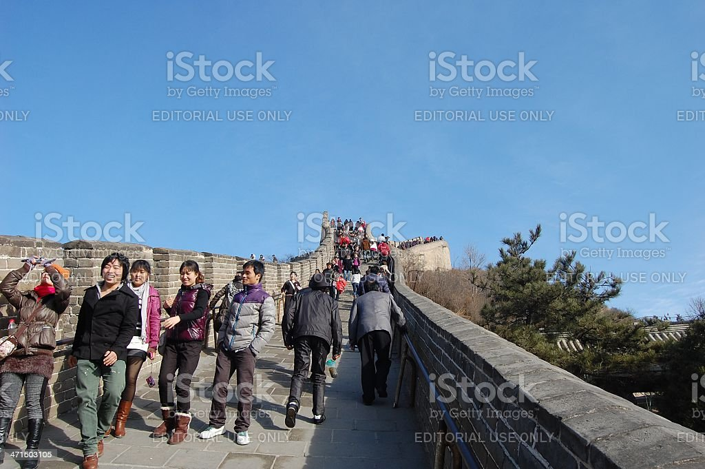 Badaling, Great Wall - China royalty-free stock photo