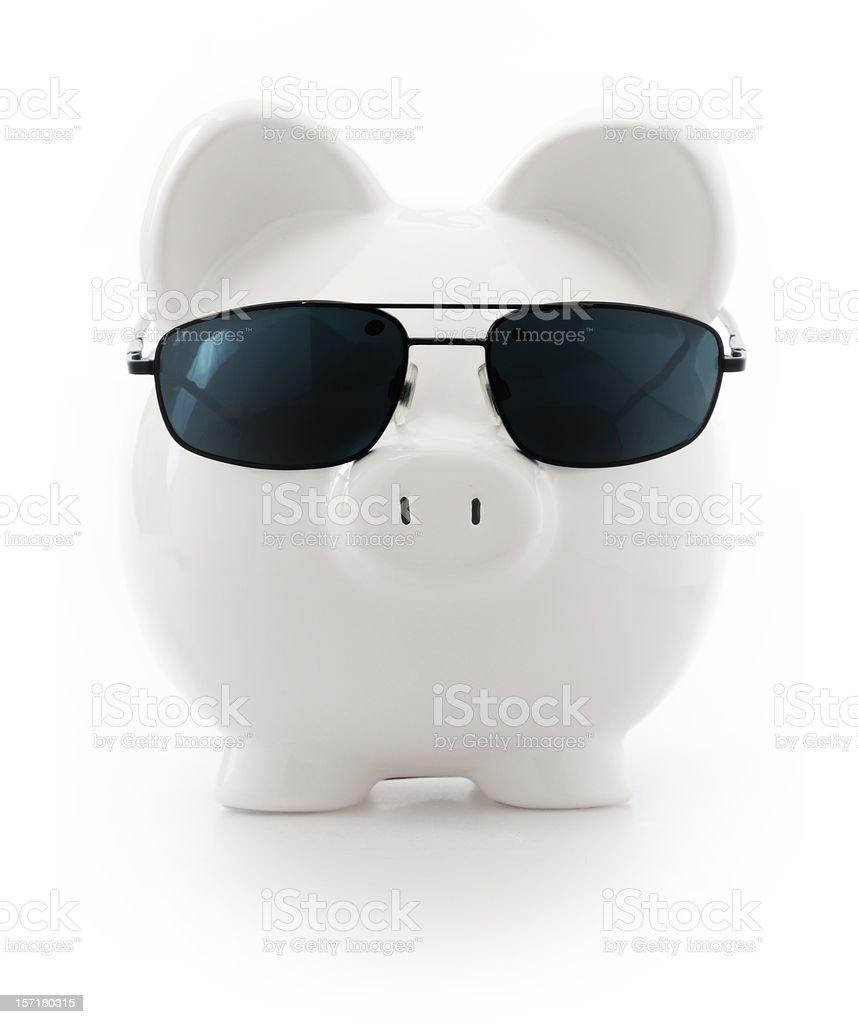 badass pig royalty-free stock photo