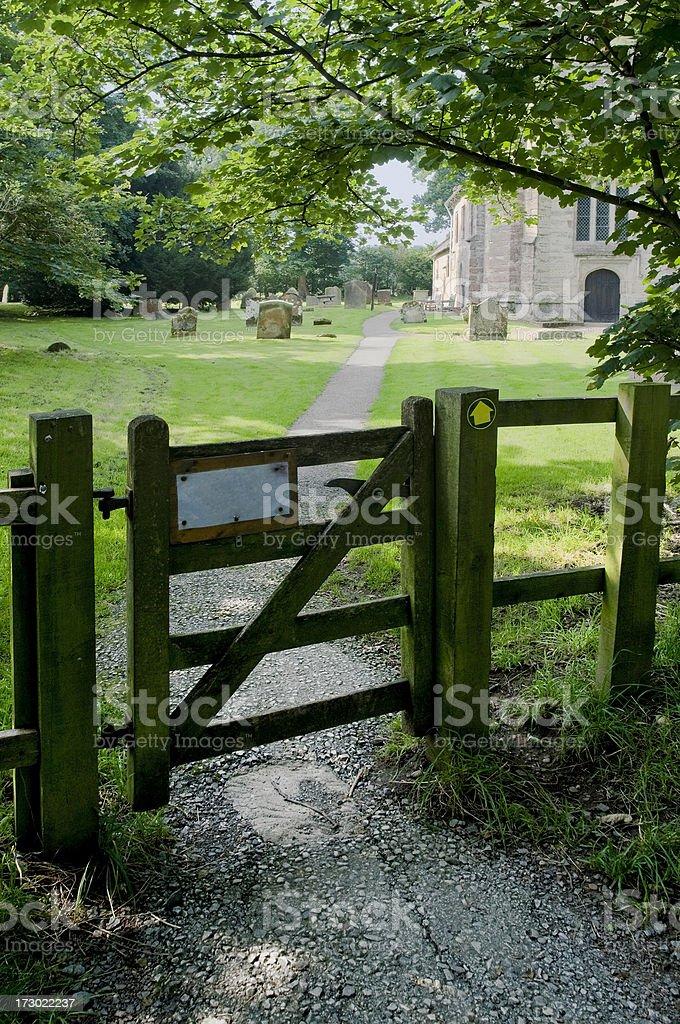 Baddesley Clinton estate stock photo