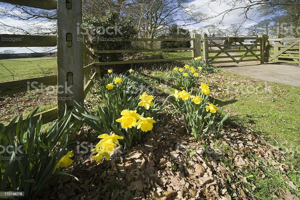 Baddesley Clinton estate Warwickshire stock photo