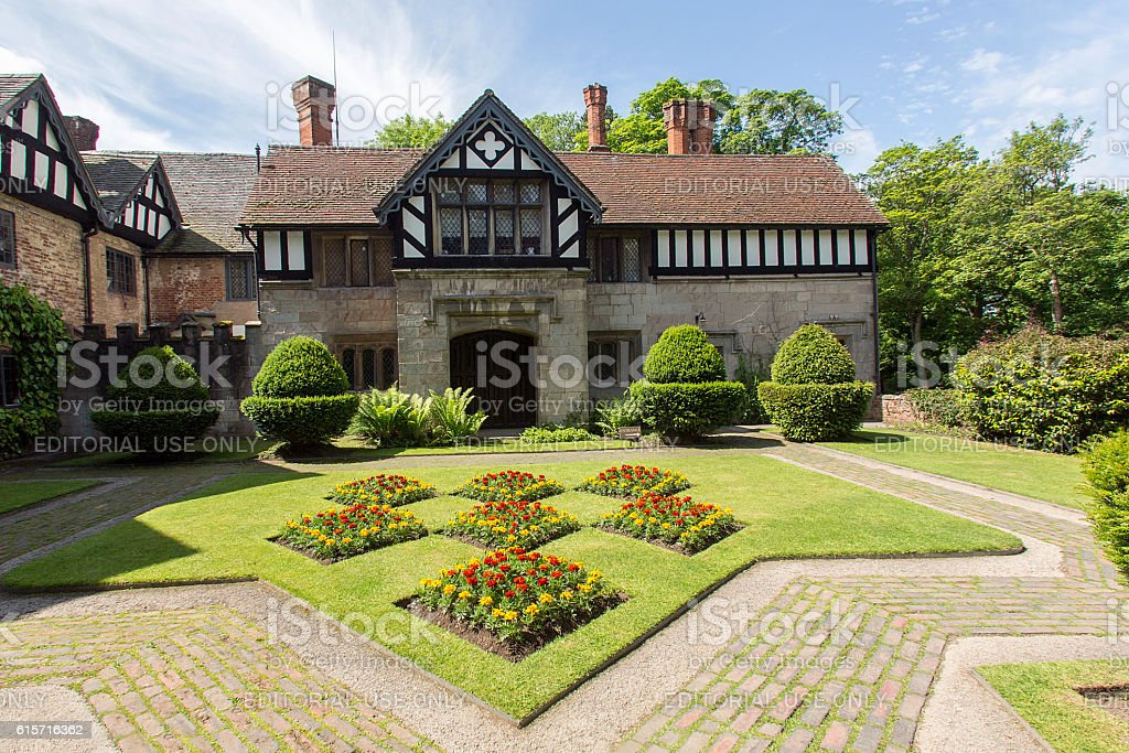 Baddesley Clinton stock photo