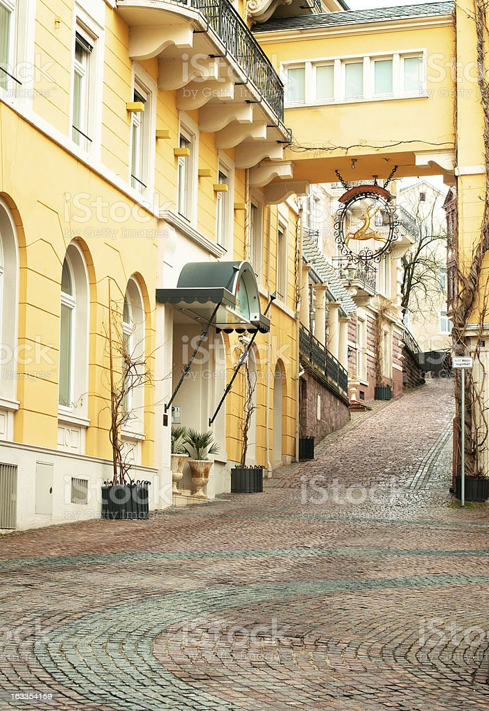 Baden-Baden royalty-free stock photo