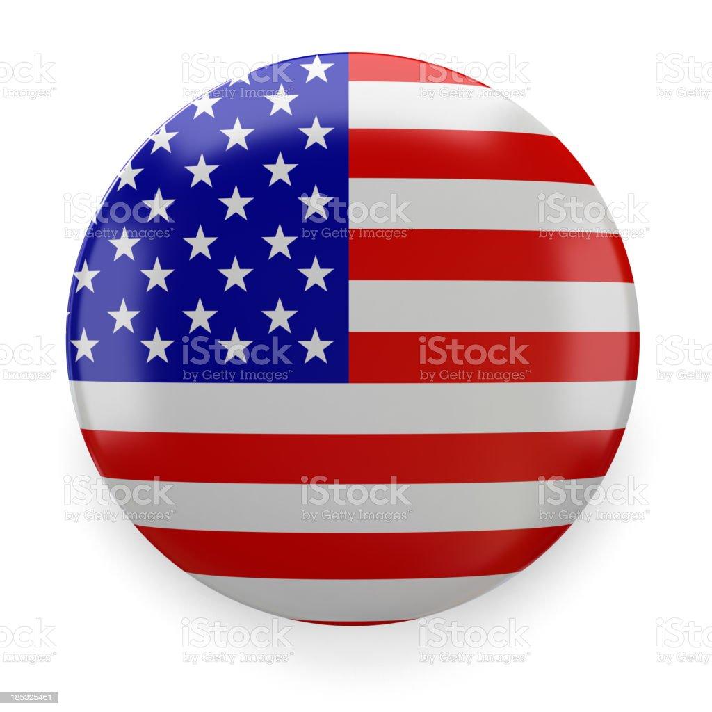 Badge - ABD royalty-free stock photo