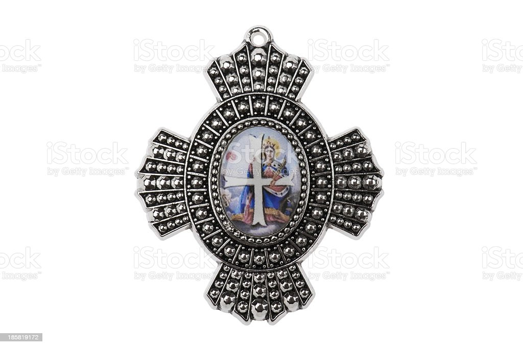 badge of the Order St Catherine royalty-free stock photo