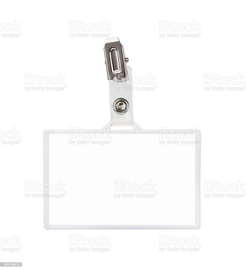 Badge stock photo