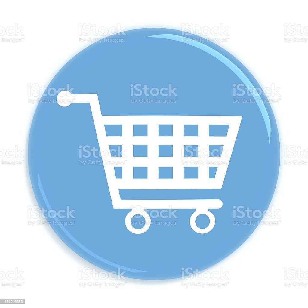 Badge - Shopping royalty-free stock photo