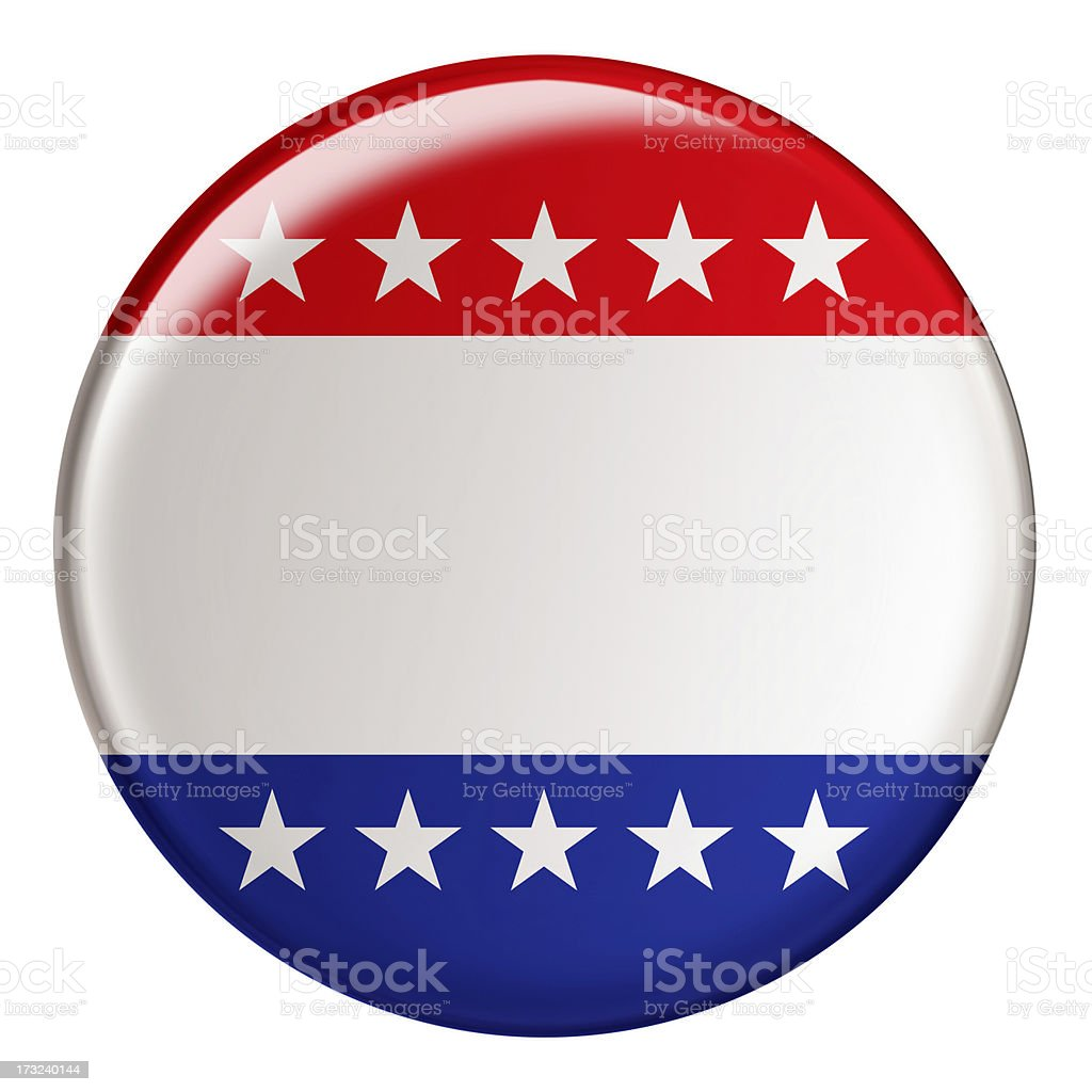 Badge With Clipping Path royalty-free stock photo