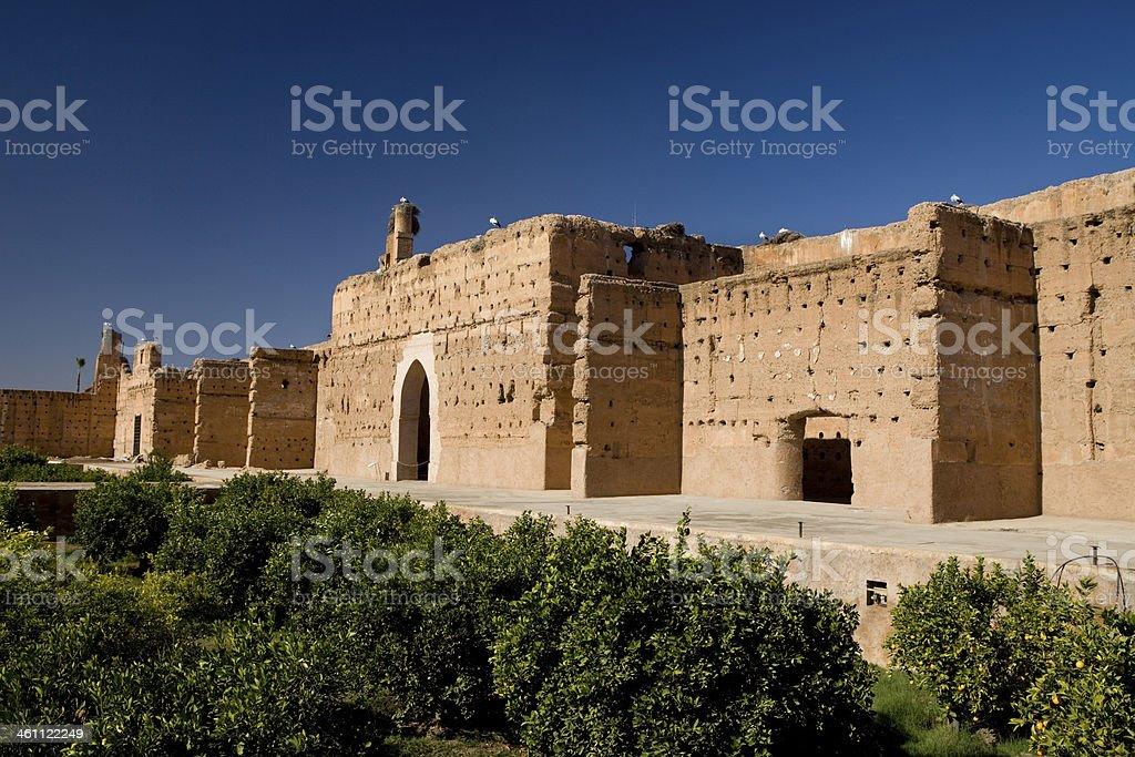 Badi Palace. stock photo