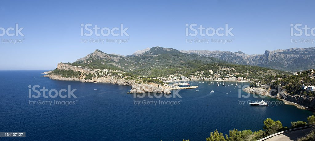 Badia de Sóller stock photo
