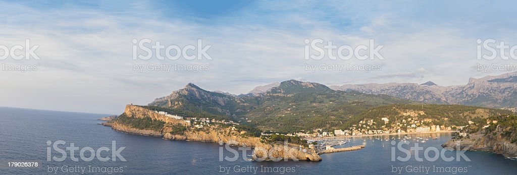 Badia de Sóller royalty-free stock photo