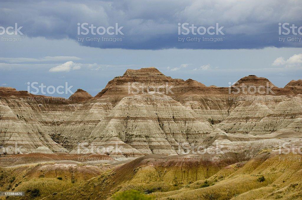 Badland Colors stock photo