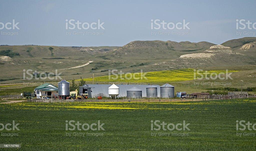 Badland Ranch royalty-free stock photo