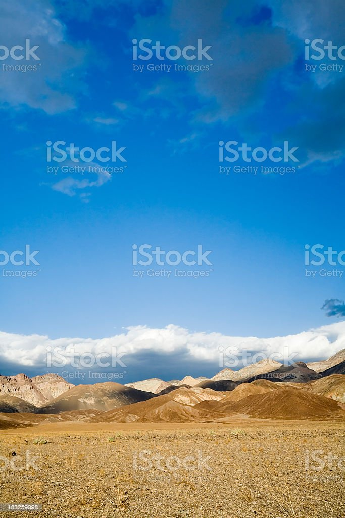 Badlands from Artists Drive royalty-free stock photo