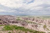 Badlands National Park Majestic South Dakota Western American Landscape