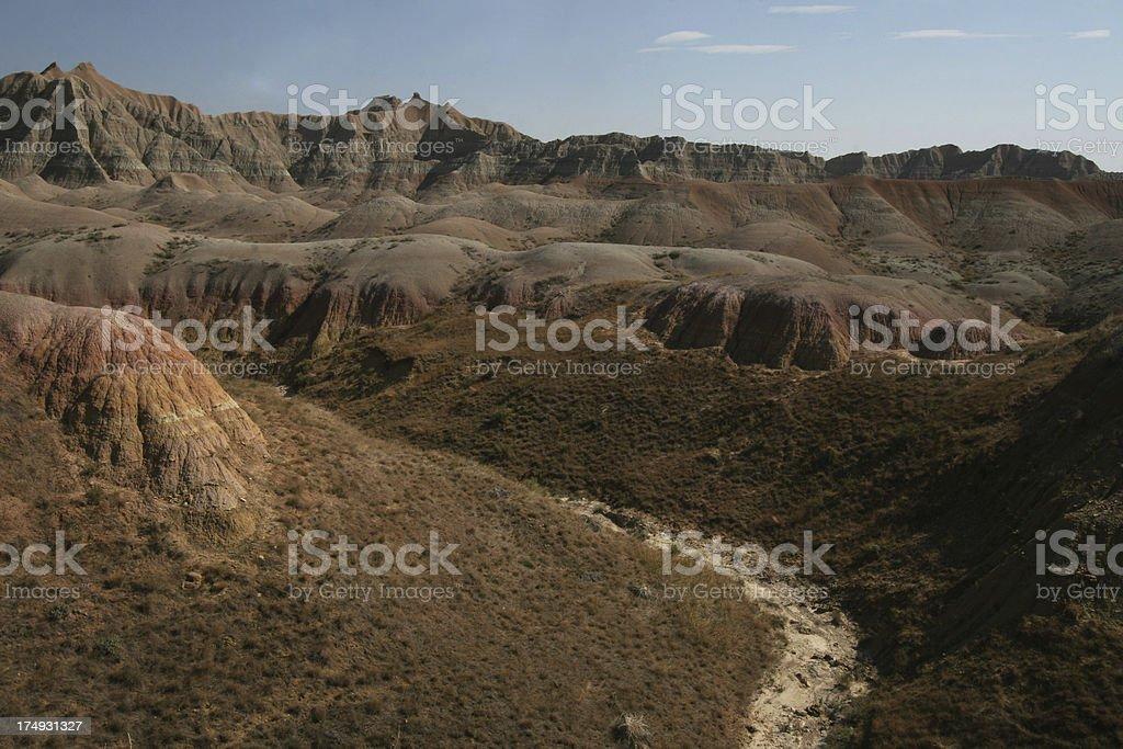 Badlands National Park royalty-free stock photo