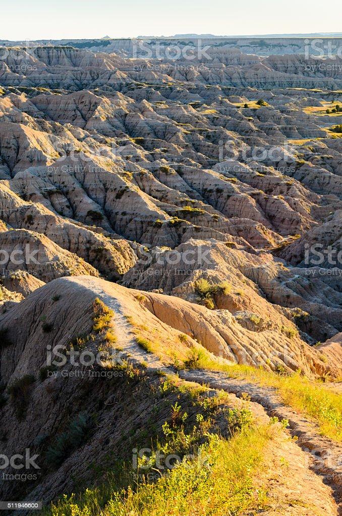 Badlands National Park stock photo