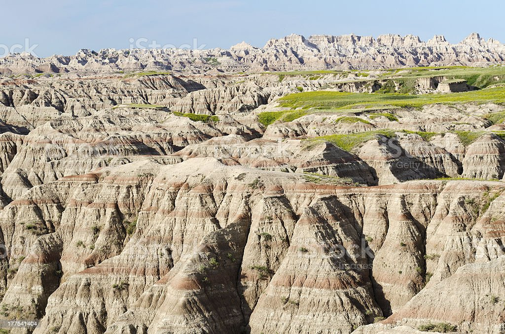 Badlands National Park, South Dakota, USA royalty-free stock photo