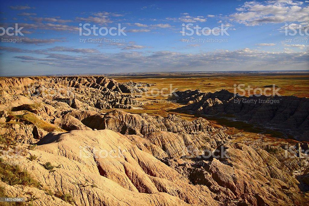 Badlands NP royalty-free stock photo