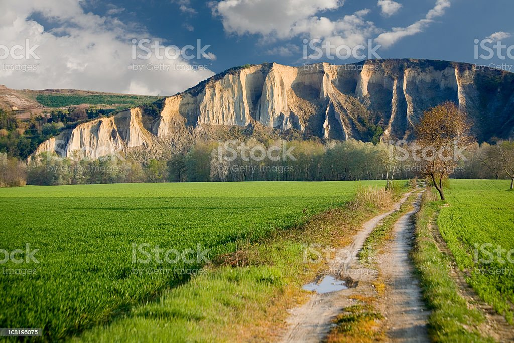 badlands of atri stock photo