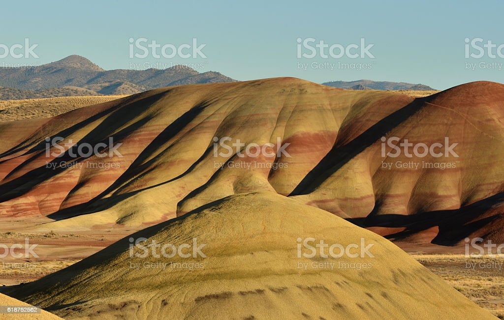 Badlands, Oregon, USA stock photo