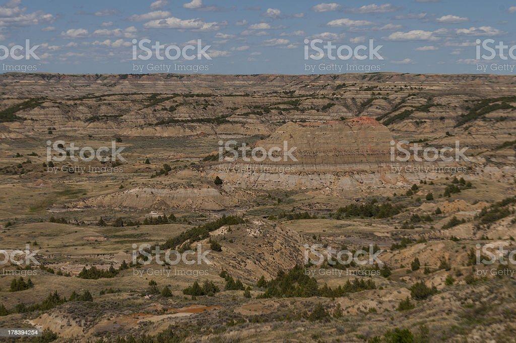 Badlands royalty-free stock photo