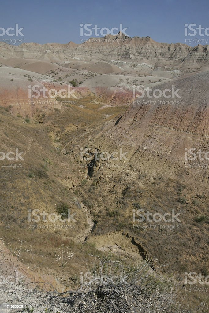 Badlands South Dakota royalty-free stock photo
