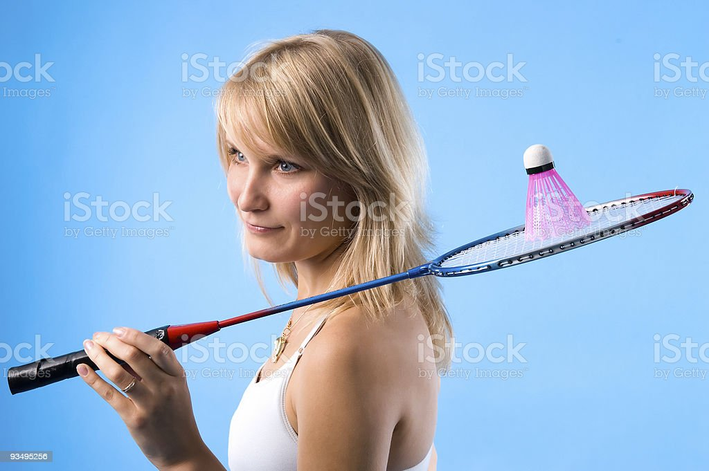 badminton bird royalty-free stock photo