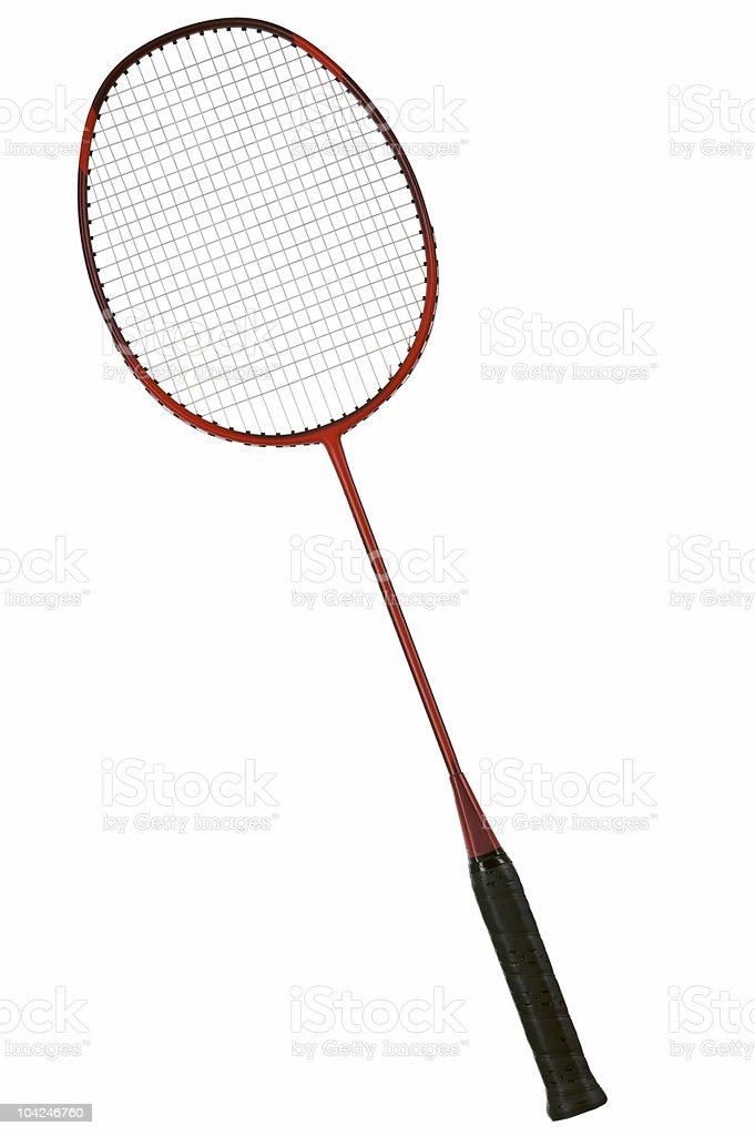 Badminton racket royalty-free stock photo