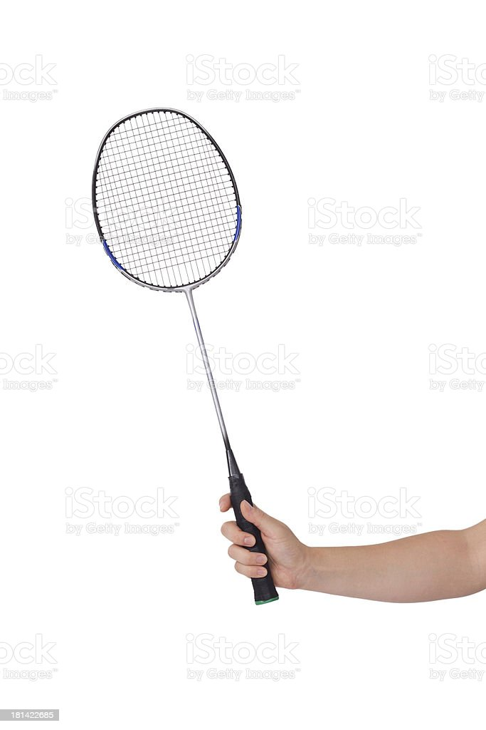 badminton racket royalty-free stock photo