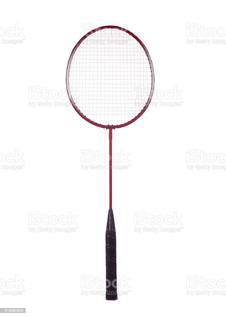 badminton racket stock photo