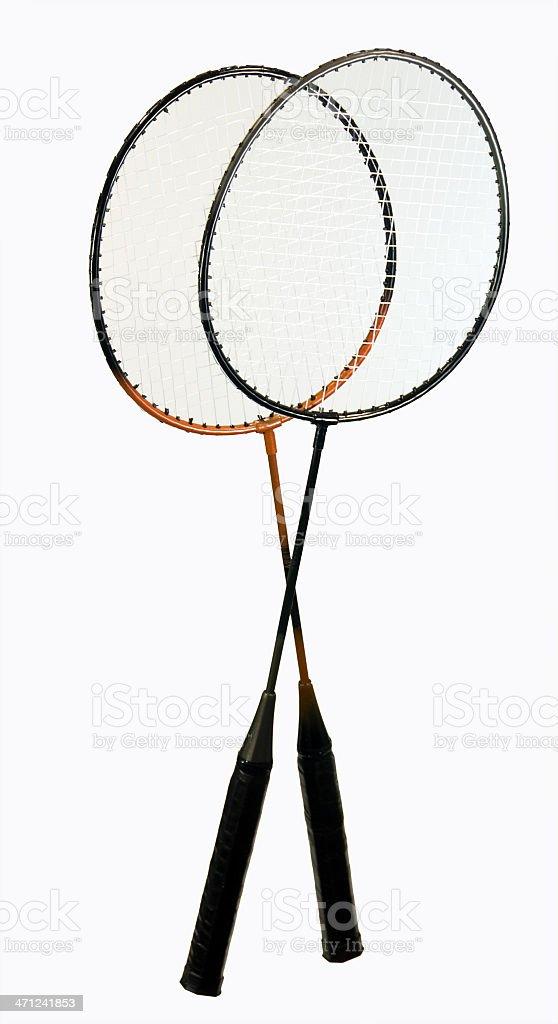 Badminton Rackets ... Full size royalty-free stock photo