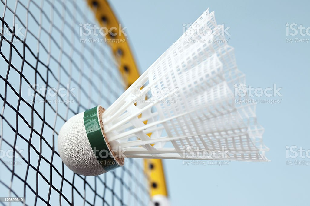 badminton shuttlecock royalty-free stock photo