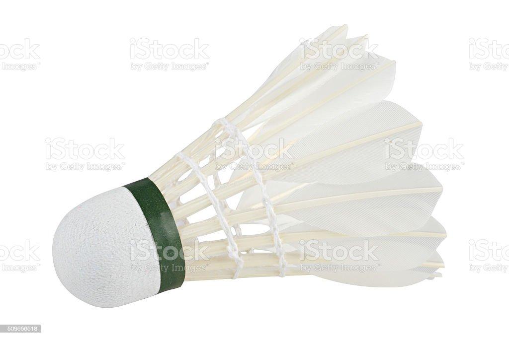 badminton white stock photo
