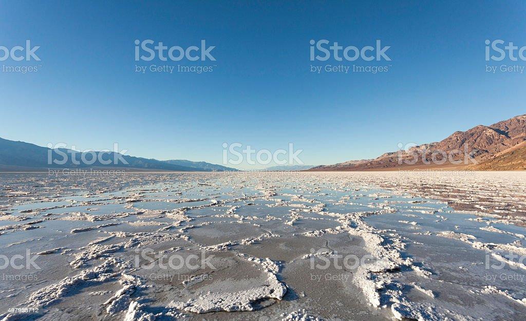 Badwater Basin stock photo