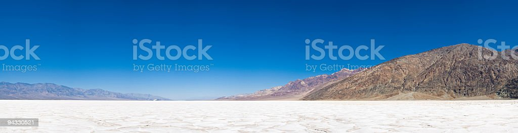 Badwater, Death Valley, California stock photo