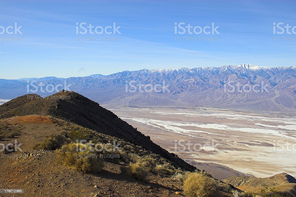 Badwater royalty-free stock photo