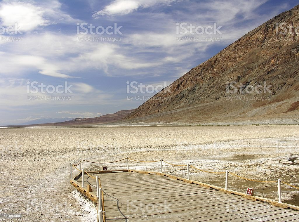 Badwater Viewpoint II stock photo