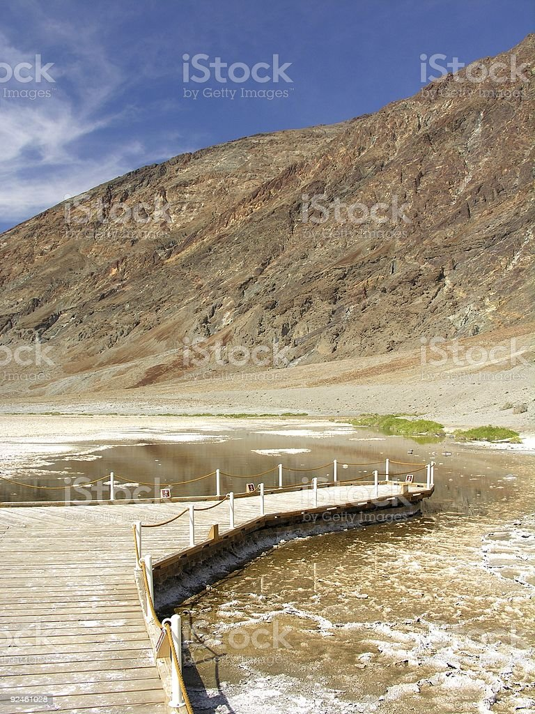 Badwater Viewpoint stock photo