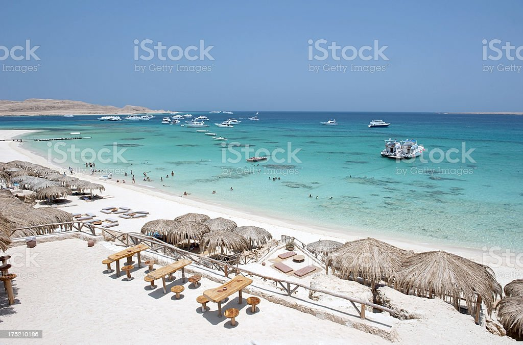 Baech resort stock photo