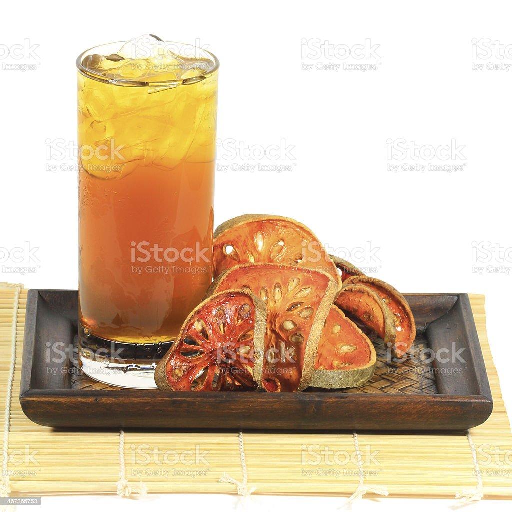 Bael Juices stock photo