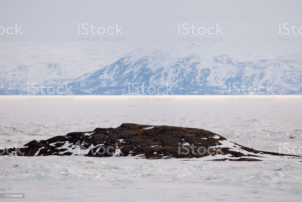 Baffin Island stock photo
