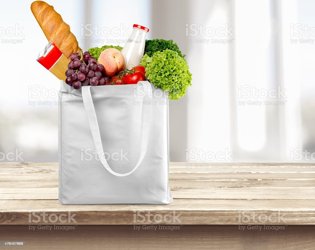 Bag, Groceries, Paper Bag stock photo