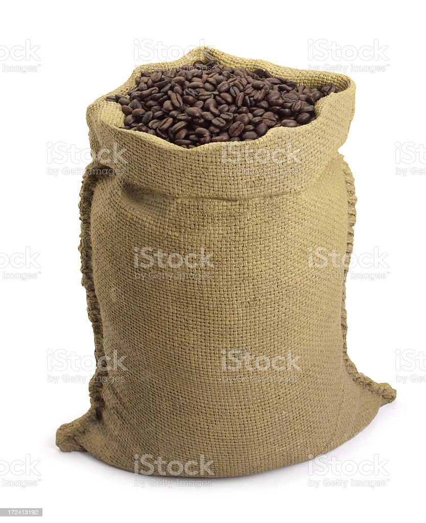 Bag of Beans stock photo