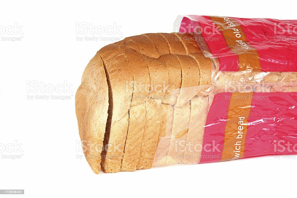 Bag of Bread royalty-free stock photo