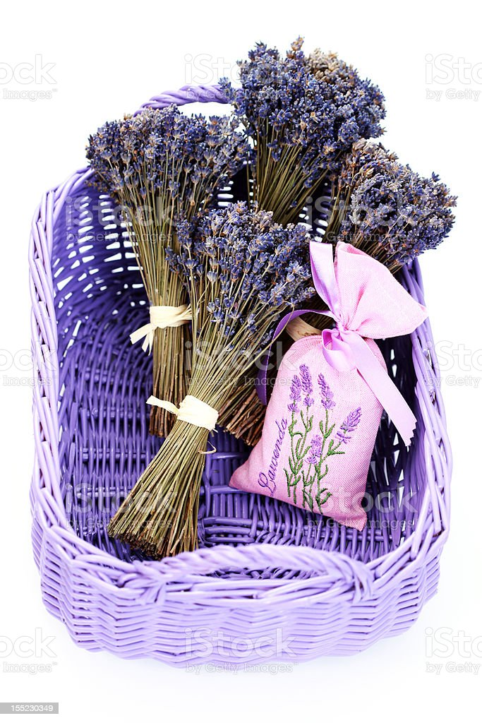 bag of lavender royalty-free stock photo