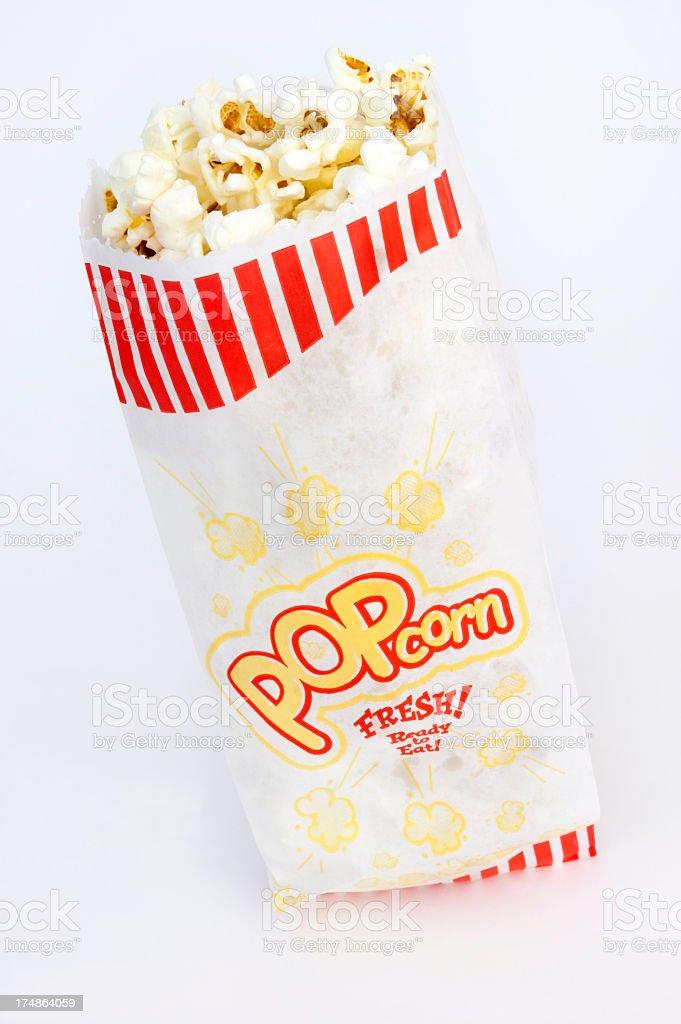 Bag of Popcorn royalty-free stock photo