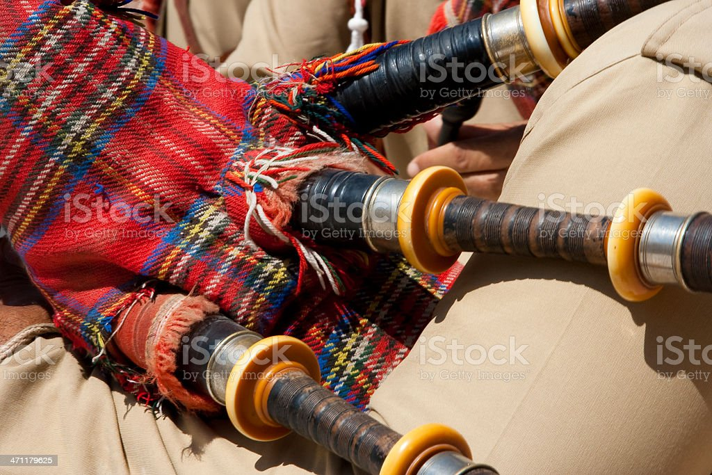 Bag Pipes stock photo