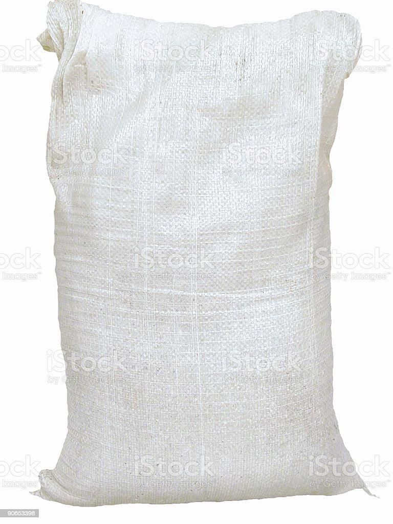 Bag with product stock photo