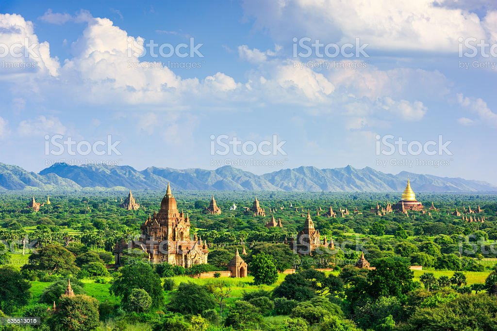 Bagan Myanmar Archeological Zone stock photo